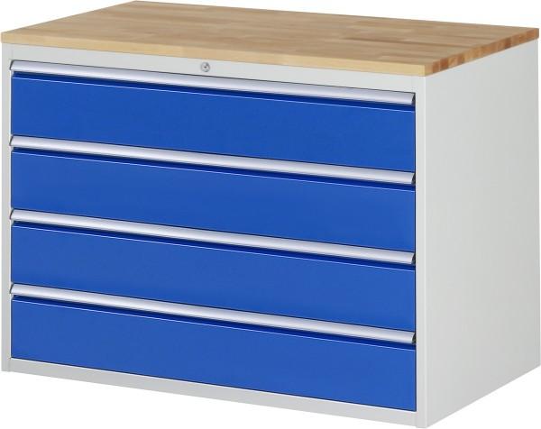 Schubladenschrank Höhe 825 mm, 4 Schubladen