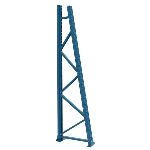 Rahmen einseitig H 2500 T 700 mm, 10° Neigung