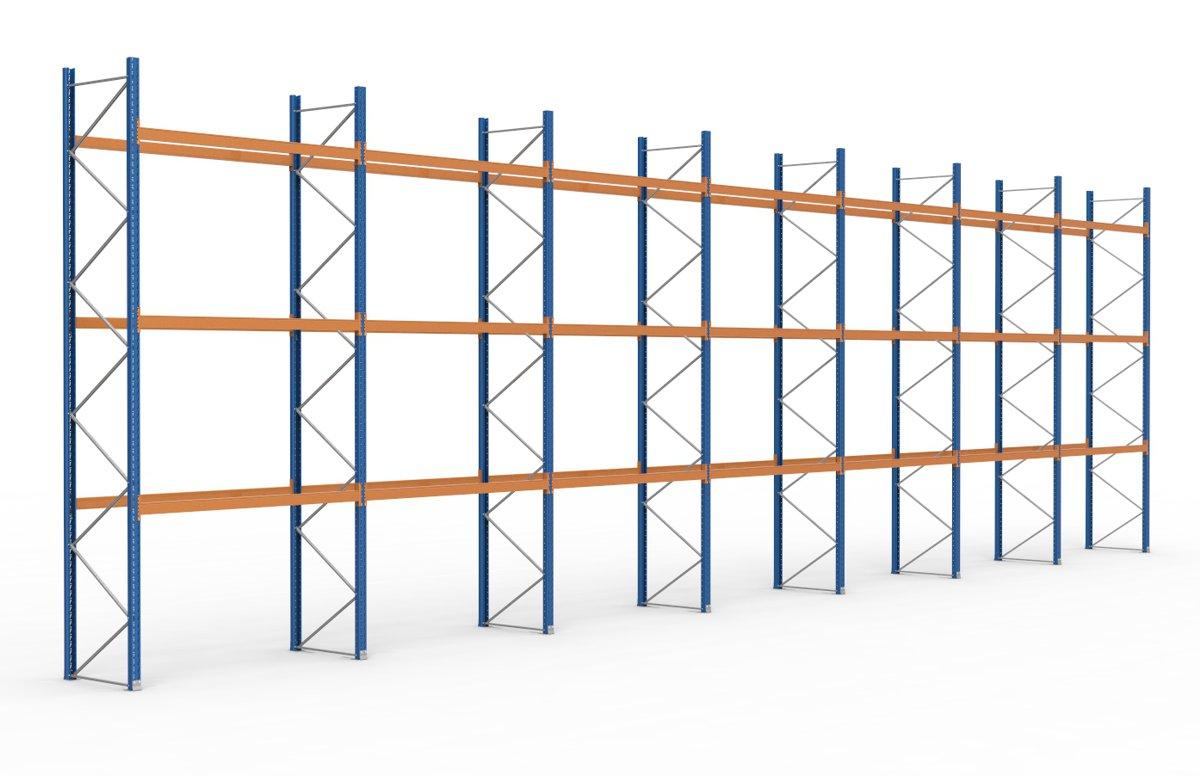 palettenregal 19700 x 5885 mm f r 84 paletten je 1000 kg sieper lagertechnik. Black Bedroom Furniture Sets. Home Design Ideas