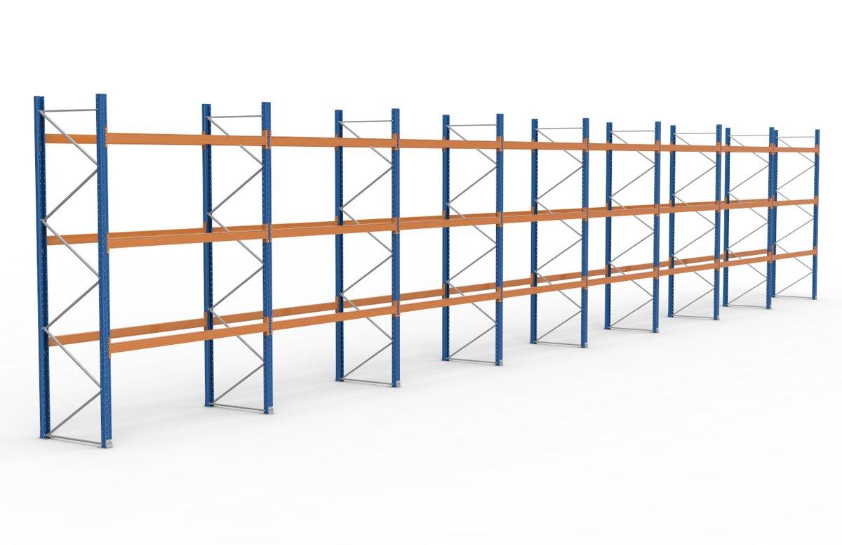 palettenregal 22500 x 3995 mm f r 96 paletten je 1000 kg sieper lagertechnik. Black Bedroom Furniture Sets. Home Design Ideas