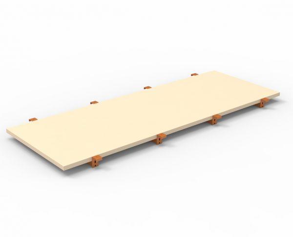 Spanplatten-Ebene 2700 x 1100 mm