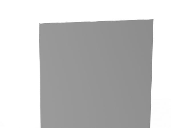 Vollblech-Rückwand steckbar