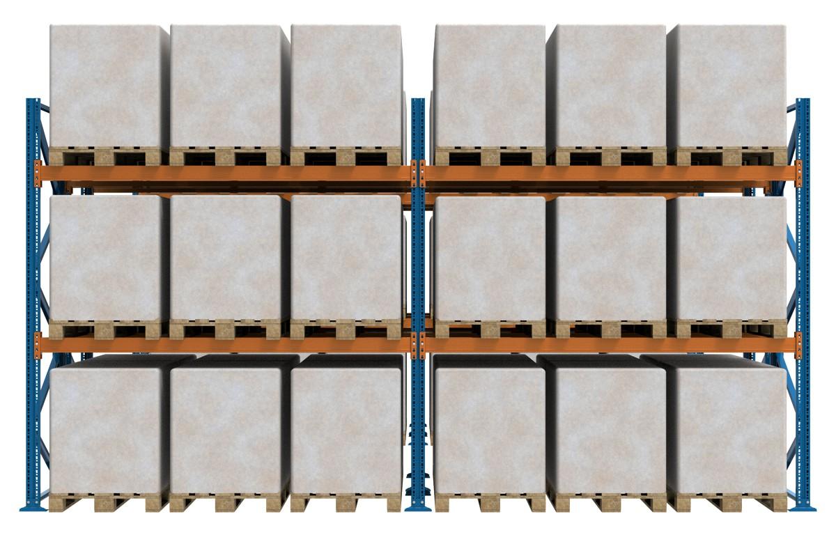 palettenregale doppelreihe beispielbild