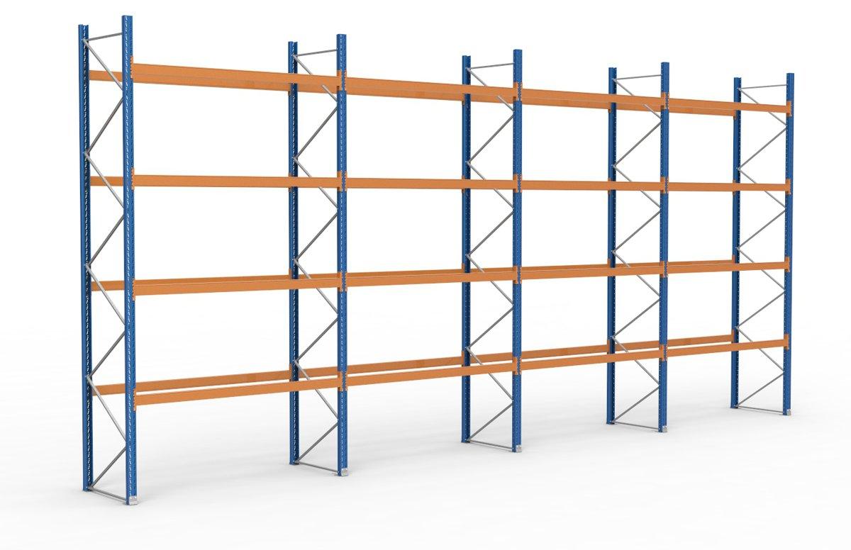 palettenregal 11300 x 5255 mm f r 60 paletten je 1000 kg sieper lagertechnik. Black Bedroom Furniture Sets. Home Design Ideas