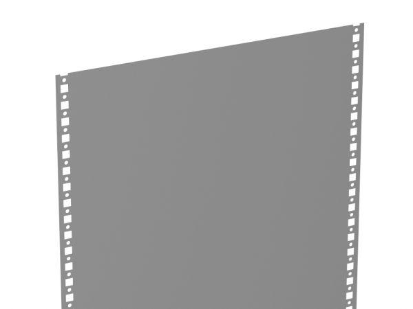 Vollblech-Seitenwand steckbar
