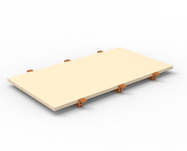 Spanplatten-Ebene 1825 x 1100 mm