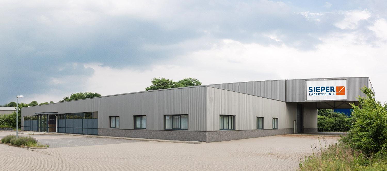 Unternehmenssitz Sieper Lagertechnik GmbH