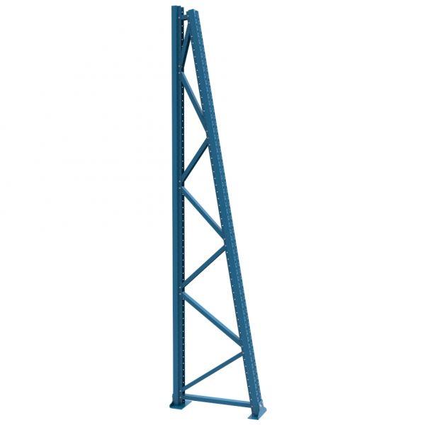 Rahmen einseitig H 3000 T 700 mm, 10° Neigung