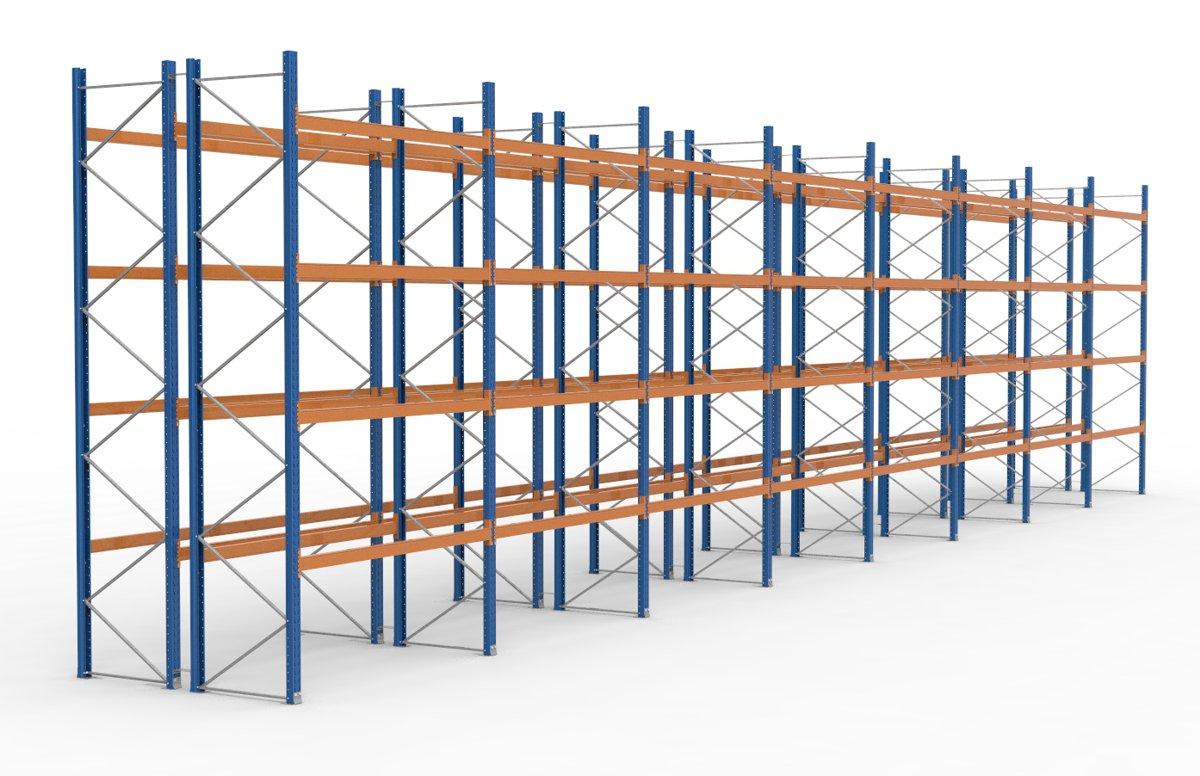 palettenregal 22500 x 5255 mm f r 240 paletten je 1000 kg sieper lagertechnik. Black Bedroom Furniture Sets. Home Design Ideas